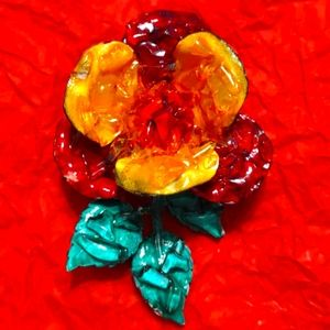 Exquisite vintage flower made in Germany